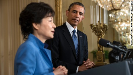 South Korea S Ousted President Park Geun Hye Is Arrested In Connection With Bribery Scheme