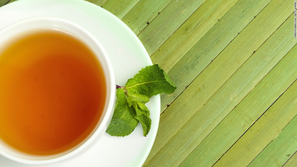 "Many people have trained themselves to expect a sweet treat at the end of a meal, says Blatner. Swap in a healthier ritual after meals to signal that you're done eating. She recommends brewing a flavorful decaf tea like peppermint, cinnamon, chocolate or one of your favorite fruity varieties for a low- or-no-calorie sweet-tooth satisfier. <br /><br /><em>This article originally appeared on <em></em><a href=""http://www.health.com/health/gallery/0,,20769037,00.html"" target=""_blank"">Health.com</em></a><em>. </em>"