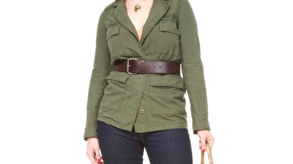 We're not suggesting you squeeze into pants that are too tight. However, wearing an outfit with a waistband or perhaps a jacket with buttons can serve as a tool to prompt you to slow down and assess how you feel during your meal, says Young. As your clothing begins to feel a little snugger, it may keep you from going back for seconds.   Health.com: 25 ways to cut 500 calories a day