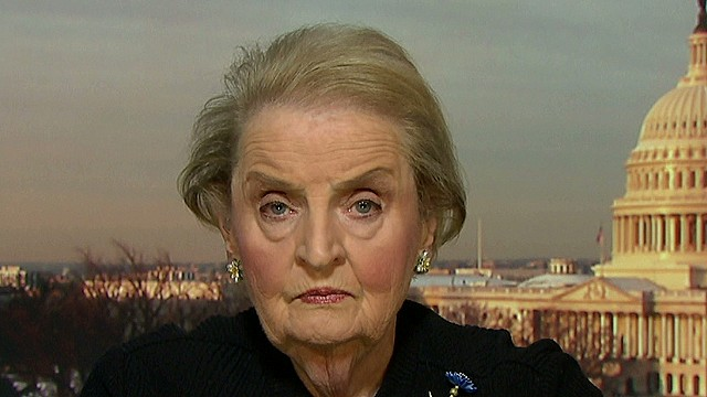 Madeleine Albright: Putin is delusional