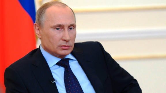 Russian President Vladimir Putin: Russian forces are in a tense standoff with Ukrainian forces in Crimea, an autonomous region of eastern Ukraine with strong loyalty to neighboring Russia. Putin has denied that Russian troops are in Crimea, but he told U.S. President Barack Obama that Russia