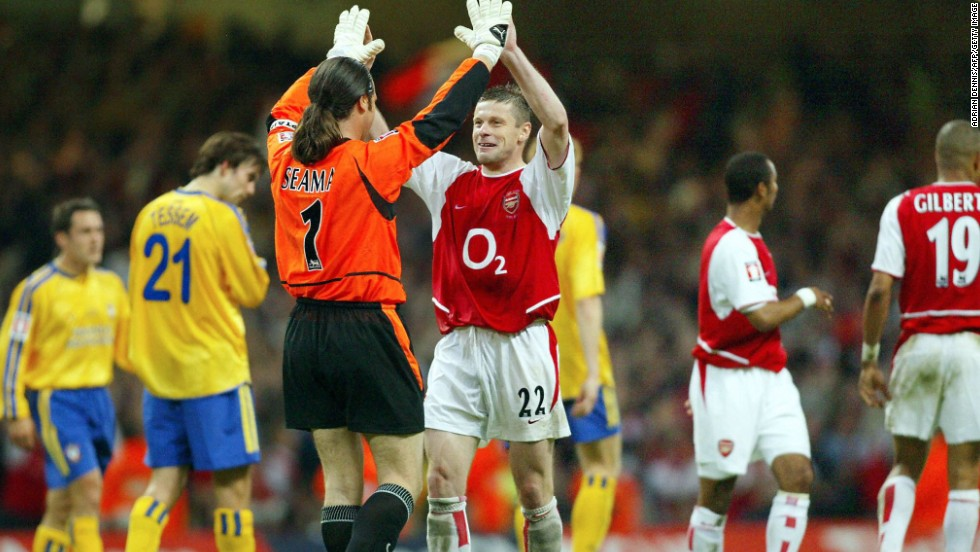 Luzhny soon caught the eye of Arsenal manager Arsene Wenger, who signed him from Dynamo Kiev in 1999. While never managing to hold down a regular first-team spot, he still amassed 110 appearances over four years, winning the English league and cup double as well as a further FA Cup.