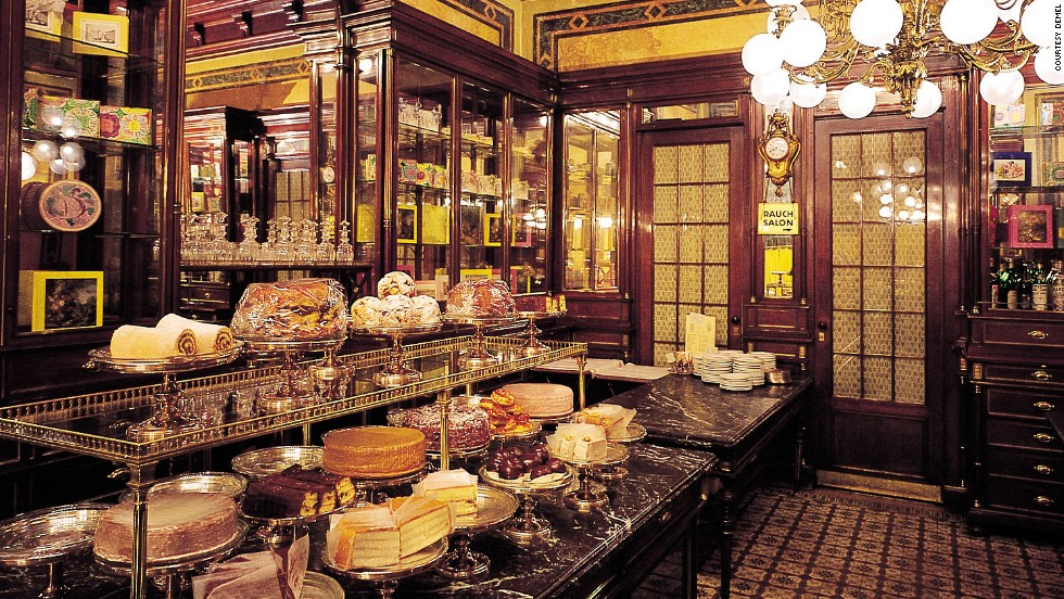 <strong>Vienna, Austria: </strong>UNESCO listed Vienna's traditional coffee houses as an Intangible Heritage in 2011 -- nowadays, more modern espresso cafes are on the rise.