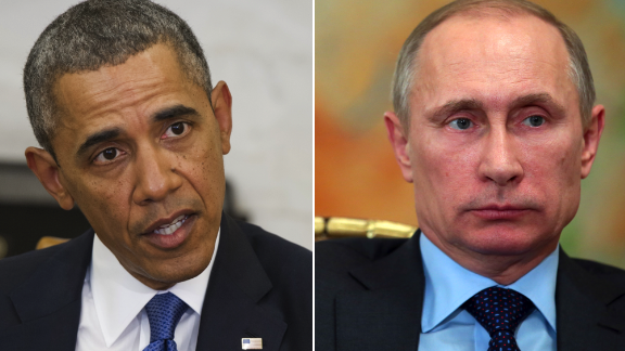 Tensions between the United States and Russia over the crisis in Crimea have exploded into an open row as Russia rejects U.S. diplomatic efforts to solve the impasse.