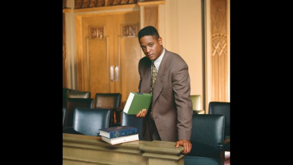 """Blair Underwood played attorney Jonathan Rollins joined the cast of """"L.A. Law"""" in the second season. Before that show came along, he had a major role in a series, """"Downtown,"""" as well as small parts in """"The Cosby Show"""" and """"21 Jump Street."""""""