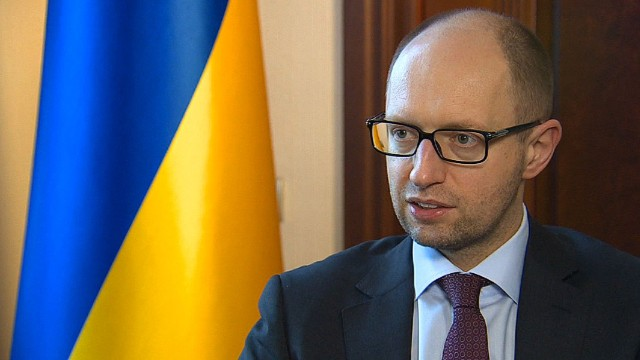 Ukraine PM: Military option not off table