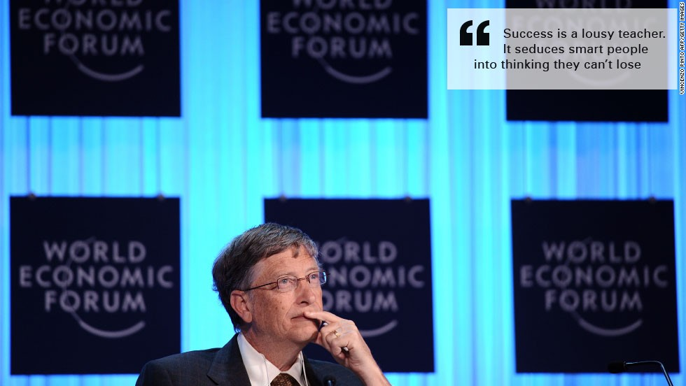 Bill gates burn quote success