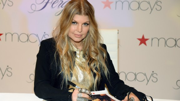 """Black Eyed Peas singer Fergie Duhamel has been very honest about her <a href=""""http://www.usmagazine.com/celebrity-news/news/fergie-on-past-drug-abuse-it-ruins-you-20091310"""" target=""""_blank"""" target=""""_blank"""">past drug abuse. </a>She and hubby Josh Duhamel welcomed son Axl in 2013."""