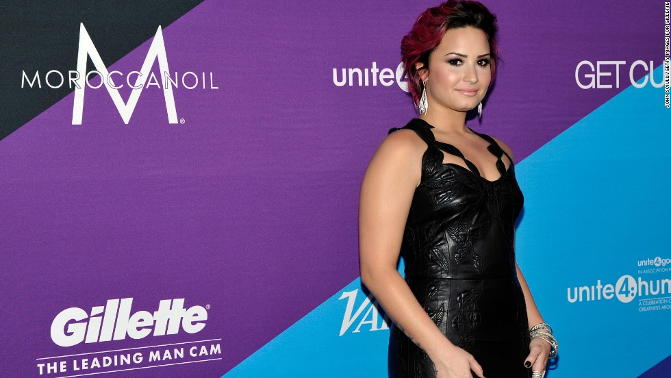 """X Factor"" judge Demi Lovato went public with her story of <a href=""http://www.cnn.com/video/?/video/showbiz/2013/12/12/jvm-demi-lovato-drug-abuse.hln&iref=allsearch&video_referrer=http%3A%2F%2Fwww.cnn.com%2Fsearch%2F%3Fquery%3D%2B%2BDemi%2BLovato%2B%26primaryType%3Dmixed%26sortBy%3Drelevance%26intl%3Dfalse%26x%3D18%26y%3D7#/video/showbiz/2013/12/12/jvm-demi-lovato-drug-abuse.hln"">cocaine abuse in 2013.</a> She has been outspoken about her <a href=""http://marquee.blogs.cnn.com/2013/07/02/demi-lovato-i-was-suicidal-at-seven/"">""emotional and physical issues""</a> from which she has since recovered."