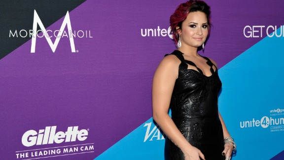 """""""X Factor"""" judge Demi Lovato went public with her story of <a href=""""http://www.cnn.com/video/?/video/showbiz/2013/12/12/jvm-demi-lovato-drug-abuse.hln&iref=allsearch&video_referrer=http%3A%2F%2Fwww.cnn.com%2Fsearch%2F%3Fquery%3D%2B%2BDemi%2BLovato%2B%26primaryType%3Dmixed%26sortBy%3Drelevance%26intl%3Dfalse%26x%3D18%26y%3D7#/video/showbiz/2013/12/12/jvm-demi-lovato-drug-abuse.hln"""">cocaine abuse in 2013.</a> She has been outspoken about her <a href=""""http://marquee.blogs.cnn.com/2013/07/02/demi-lovato-i-was-suicidal-at-seven/"""">""""emotional and physical issues""""</a> from which she has since recovered."""