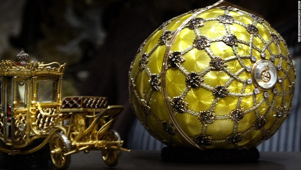 11 intriguing things owned by wealthy russians cnn of the 42 surviving imperial faberge eggs 20 belong to russians queen elizabeth ii negle Images