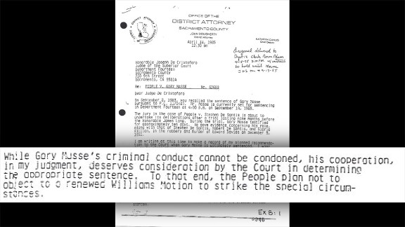 """Ride's investigator uncovered this letter by the prosecution dated April 1985, """"in which the government stated its intention to support Masse's resentencing as a result of his cooperation,"""" the appeals court wrote. The letter would """"have been valuable to the defense in impeaching Masse's credibility before the jury."""" But prosecutors didn't share the letter with Killian's lawyers. Masse's """"cooperation ... deserves consideration by the Court in determining the appropriate sentence,"""" the letter says."""