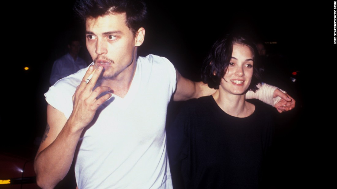 "Johnny Depp and Winona Ryder had amazing chemistry on- and off-screen, from ""Edward Scissorhands"" to the tattoo parlor, where Depp had ""Winona Forever"" inked on his arm. Alas, although we adored their courtship, Depp and Ryder weren't meant to be."