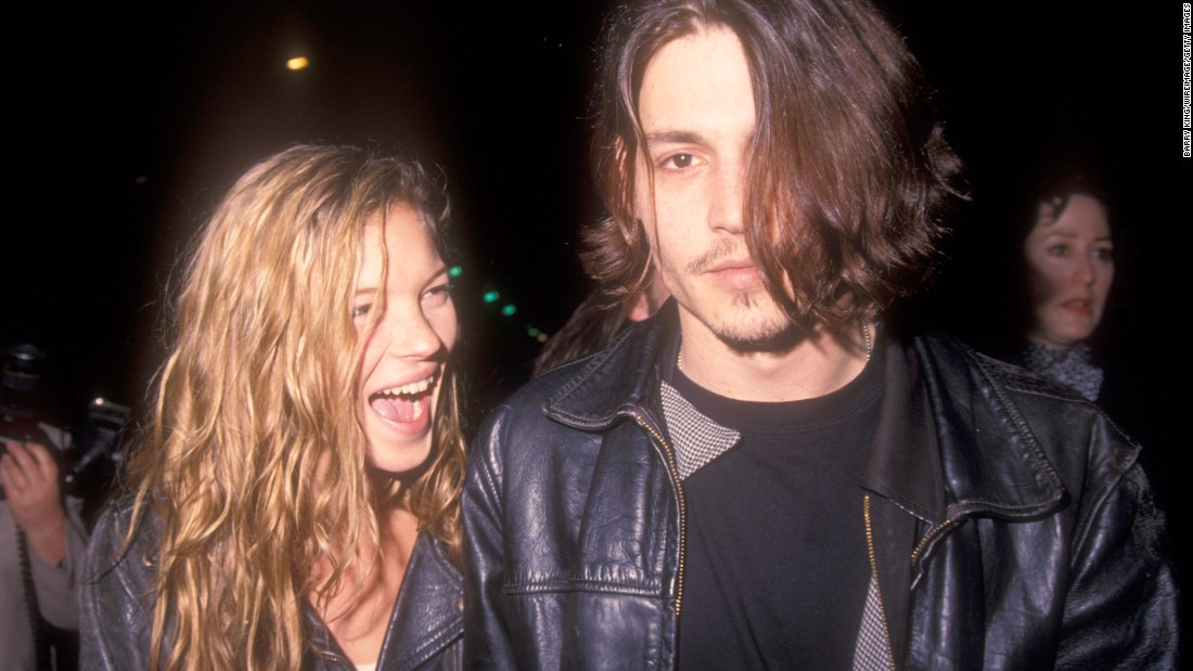 One of our other favorite '90s couples again includes Depp, who dated model Kate Moss from 1994 to 1998. A pairing with that much heat and great hair should never fall apart.