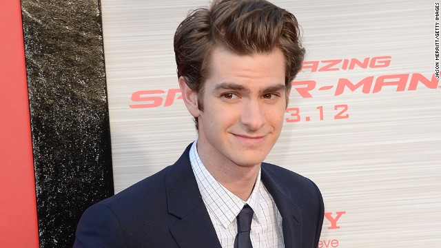 """The Amazing Spider-Man"" actor Andrew Garfield attends the movie's 2012 premiere in Los Angeles."