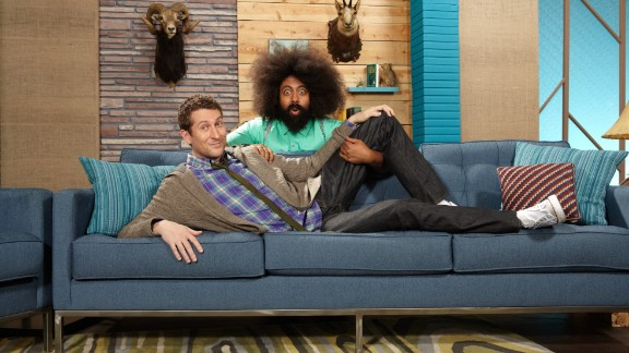 """""""Comedy Bang! Bang! Season 3"""": Scott Aukerman and Reggie Watts keep the laughs coming in the third installment of their popular IFC series. (Netflix)"""