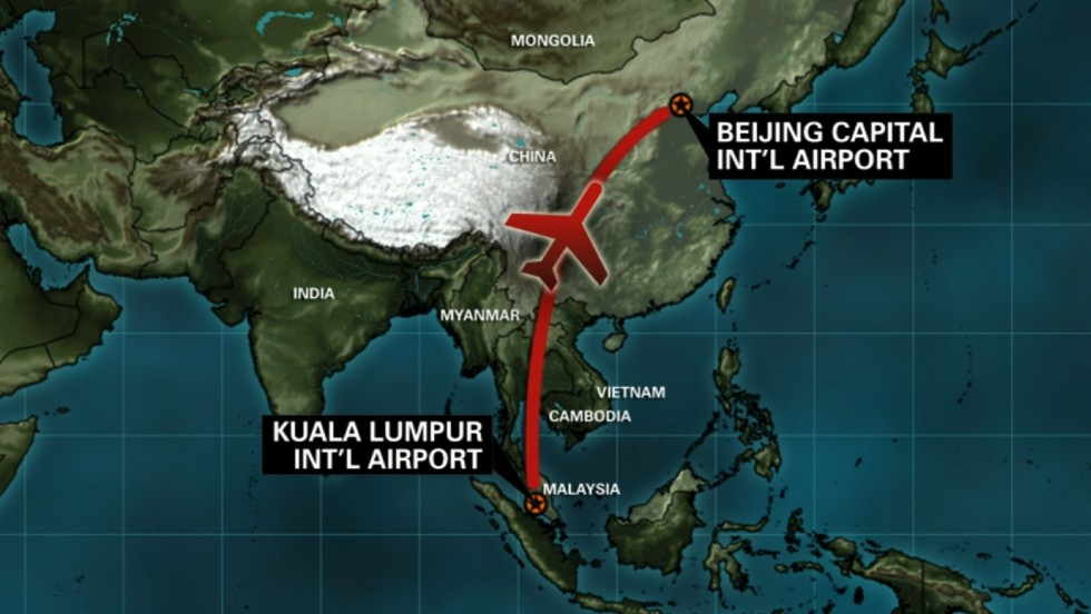 Search launched for Malaysian airliner carrying 239 people - CNN