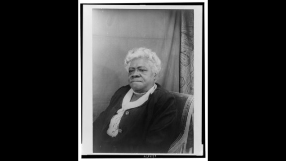 """<a href=""""http://www.ncnw.org/about/bethune.htm"""" target=""""_blank"""" target=""""_blank"""">Mary McLeod Bethune </a>created the National Congress of Negro Women, Bethune-Cookman College and served as an adviser to Franklin D. Roosevelt."""