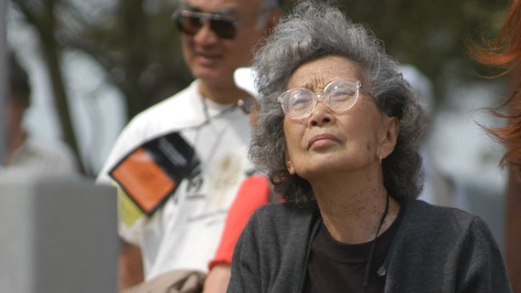 American activist Yuri Kochiyama was interned during World War II. She later helped push for passage of the Civil Liberties Act, which compensated Japanese-Americans incarcerated in internment camps during the war.