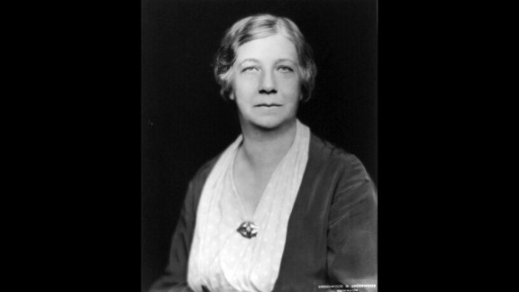 """Historian Mary Ritter Beard helped organize the World Center for Women's Archives and was<a href=""""http://asteria.fivecolleges.edu/findaids/sophiasmith/mnsss135_bioghist.html"""" target=""""_blank"""" target=""""_blank""""> integral in documenting women's history and stories</a>."""