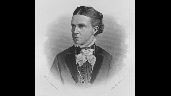 American suffragist Olympia Brown is regarded as the first woman to graduate from a theological school, as well as becoming the first full-time ordained minister.