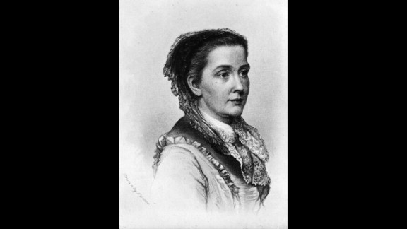 """American feminist, abolitionist and reformer Julia Ward Howe was a co-editor and writer for the Woman's Journal, a key player in creating Mother's Day and the first female admitted to Society of Arts and Letters. She is best known for writing the """"Battle Hymn of the Republic."""""""