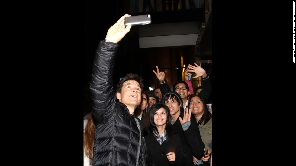 "Jason Bateman arrives at the screening of Focus Features' ""Bad Words"" on March 7."