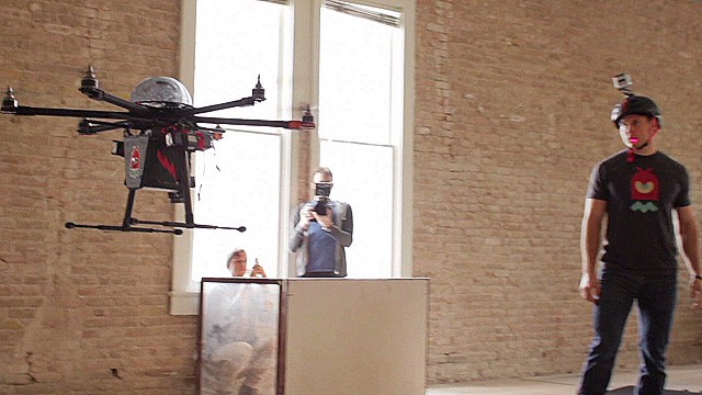 Watch out! This drone will tase you