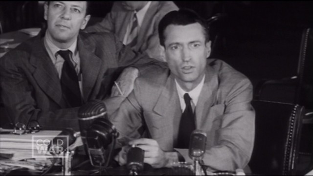 1950: McCarthy claims communist infiltration