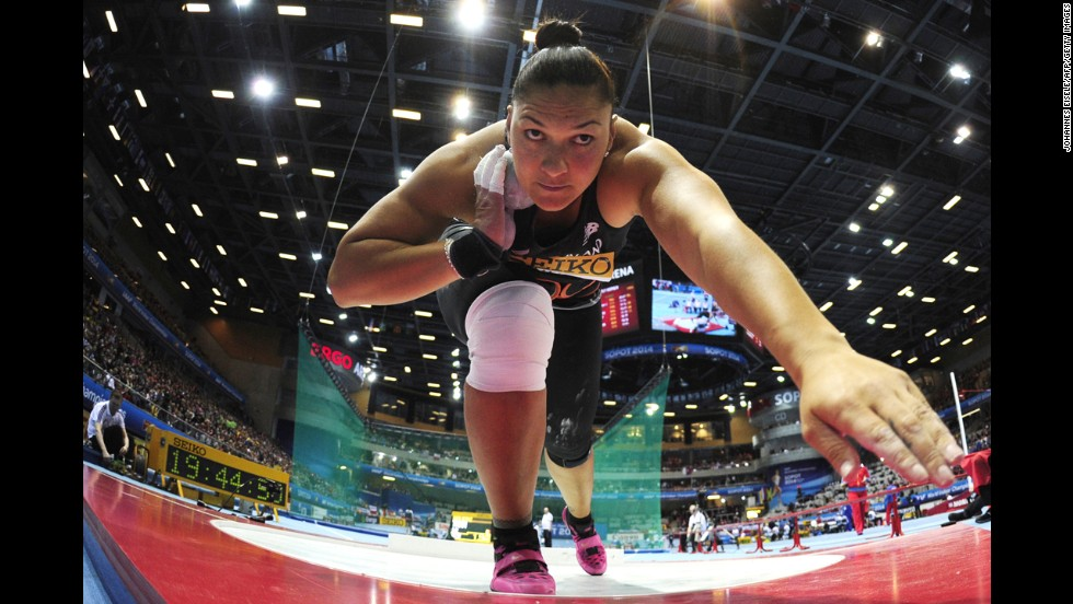 Capable of throwing a shot over 21 meters, Adams is the first woman in history to win four consecutive individual world titles in a track and field event. The two-time Olympic champion has only been beaten twice in major world events since 2006.