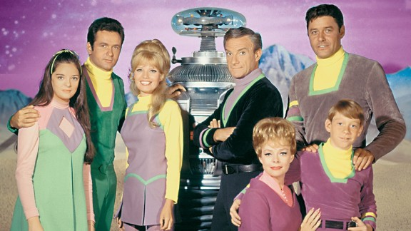 """Shows such as the 1960s sci-fi TV series """"Lost in Space"""" were set in the future, which appeared to be all-white."""