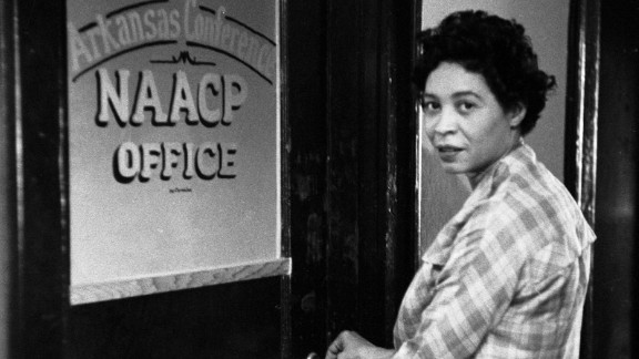 """Civil rights leader and NAACP official Daisy Bates was a central leader during the """"Little Rock Nine"""" case, which sought to integrate the all-white Central High School with nine black students."""