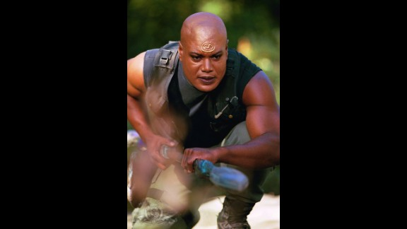 """Who says all the heroes have to be white guys? Christopher Judge played the warrior Teal'c in the sci-fi series """"Stargate SG-1."""""""