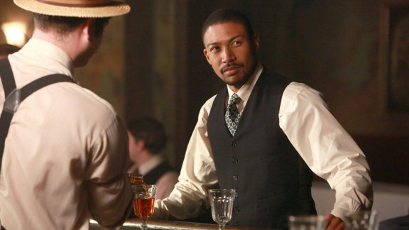 """Vampires are supposed to be white guys, right? Not on the TV series """"The Originals,"""" which features Charles Michael Davis as the charming but deadly Marcel."""