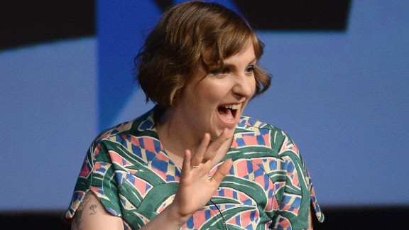 Lena Dunham speaks at South by Southwest on March 10, 2014, in Austin, Texas.