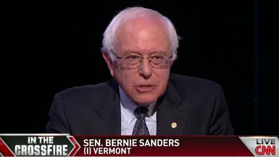Crossfire Sanders to Democrats we need this debate_00003920.jpg