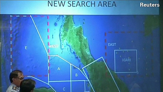 Search for Flight 370 expands