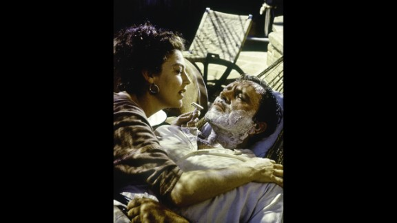 """Ava Gardner and Richard Burton starred in an adaptation of the Tennessee Williams play """"The Night of the Iguana"""" that debuted in summer 1964."""