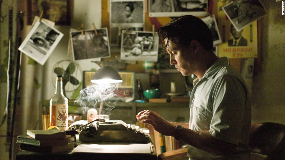 """The Rum Diary,"" from 2011, stars Johnny Depp in a film based on a novel by Hunter S. Thompson."