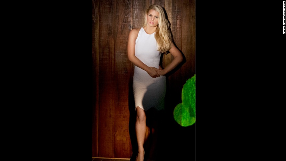 "Jessica Simpson announced on Instagram in March that she has reached her goal weight after giving birth to son Ace in June 2013. ""First time rocking a white dress this year ... but not the last!!Thanks @weightwatchers!"" the paid spokeswoman <a href=""https://twitter.com/JessicaSimpson/status/441742983767937025"" target=""_blank"">tweeted</a>. Like many women, Simpson has found her weight fluctuating over the years; unlike most women, she's had to deal with public criticism about her curves."