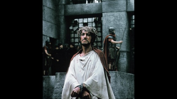 """The Greatest Story Ever Told"": Max von Sydow plays Jesus Christ in this 1965 biblical epic, which originally clocked in at more than four hours. The sprawling, star-studded cast -- which critics said was distracting -- also includes Charlton Heston, Claude Rains, Telly Savalas, Roddy McDowall, Angela Lansbury, Sidney Poitier and John Wayne."