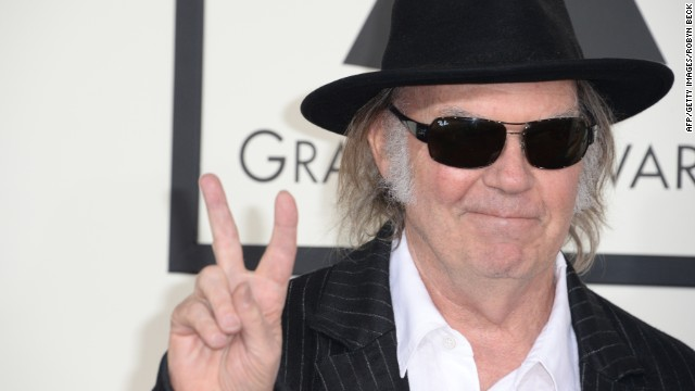 Neil Young's Pono online store and PonoPlayer device feature high-resolution digital music.