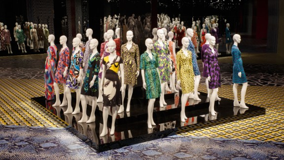 The retrospective features 200 vintage and contemporary versions of the dress.
