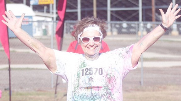 Since she started working out three years ago, Henson has participated in five 5K races. She recently finished one in 46 minutes, her personal best.