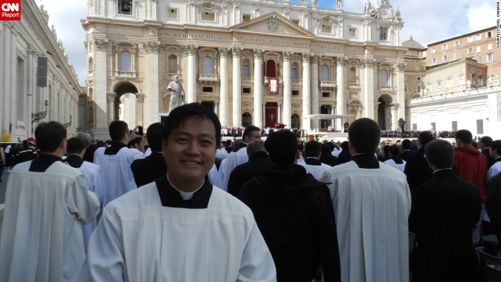 Father Joel Camaya, a Catholic priest from the Philippines, was in St. Peter's Square in Rome when Pope Francis was chosen in 2013. A year later, he reflects on the new pope's first months and looks ahead to his legacy.