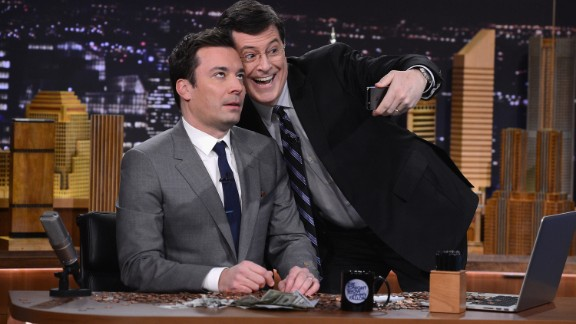 "Outstanding Variety Series nominations went to ""The Tonight Show with Jimmy Fallon,"" the first time that program has been recognized by the Academy in years. It competes with ""America's Got Talent,"" ""Dancing with the Stars,"" many of this year's nominees' old stomping ground, ""Saturday Night Live,"" and ""The Voice."""