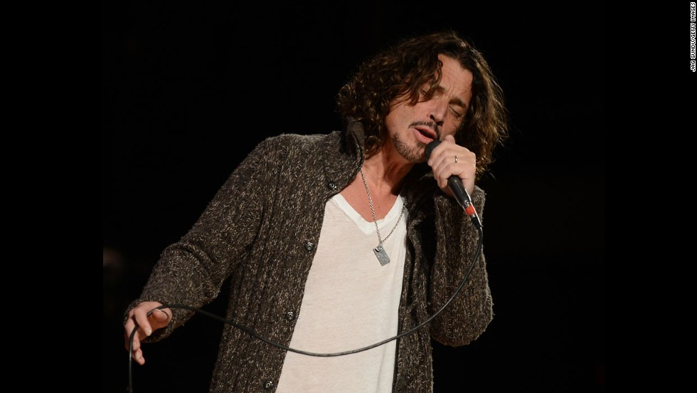 Soundgarden frontman Chris Cornell continues to perform with the vigor of a man half his age. He turned 50 in July.