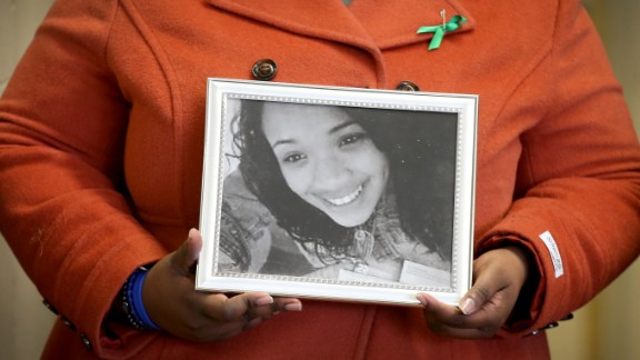 Honor student Hadiya Pendleton, 15, was shot and killed in a park after school in January 2013.