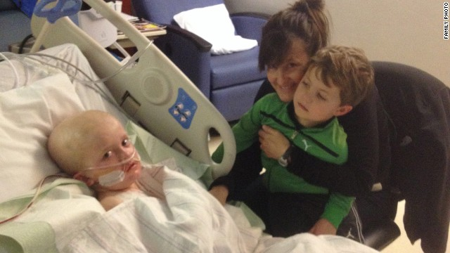 Josh Hardy, 7, is expected to take brincidofovir for at least 12 weeks. His family hopes it will save his life.