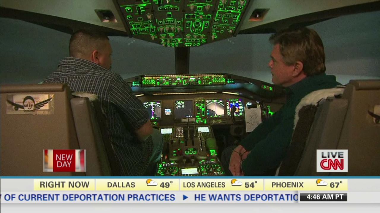 A look inside a Boeing 777 cockpit - CNN Video